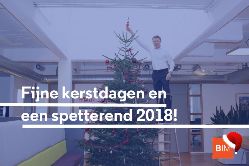 Fijne kerst en een spetterend 2018!
